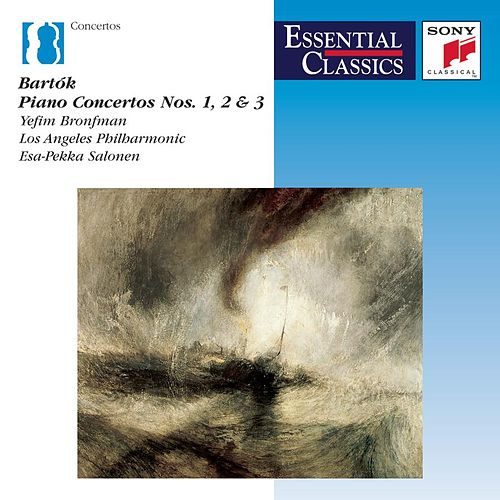 Bartók: The Three Piano Concertos by Esa-Pekka Salonen; Yefim Bronfman