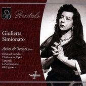 Giulietta Simionato: Volume 1 by Various Artists
