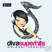 Diva Superhits Workout Session 01 (130-140 BPM Mixed Workout Music Ideal For Mid-Tempo) by Various Artists