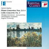 Saint-Saëns: Piano Concertos Nos. 2 & 4, Cello Concerto, Introduction and Rondo Capriccioso by Various Artists