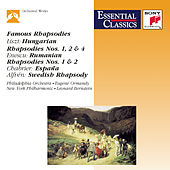 Famous Rhapsodies by Various Artists