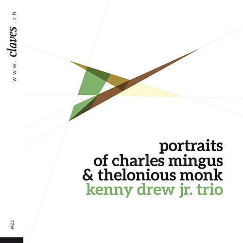 Portraits of Charles Mingus and Thelonious Monk by Kenny Drew Jr.
