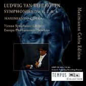 Beethoven: Symphonies No. 1, 2 & 4 by Maximianno Cobra