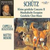 Schütz: Schütz Edition, Vol. IV by Cappella Augustana