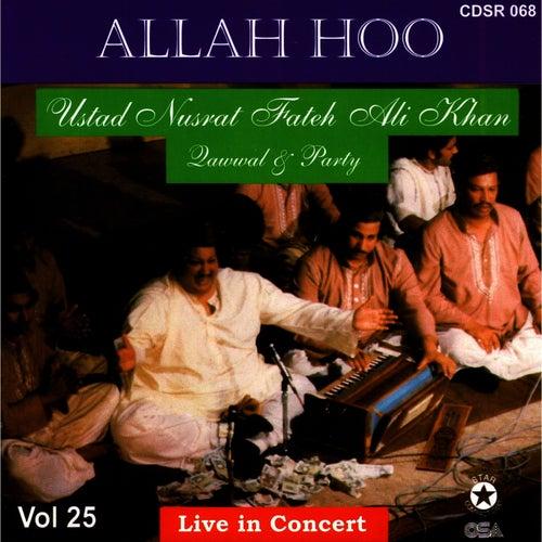 Allah Hoo - Live in Concert Vol. 25 by Nusrat Fateh Ali Khan