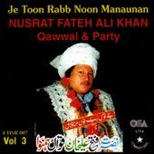 Je Toon Rabb Noon Manaunan vol.3 by Nusrat Fateh Ali Khan
