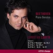 Beethoven: Piano Sonatas, Vol. 5 by Christian Leotta