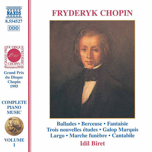 Piano Music Vol. 1 by Frederic Chopin