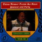 Aansoo Vol. 22 by Nusrat Fateh Ali Khan