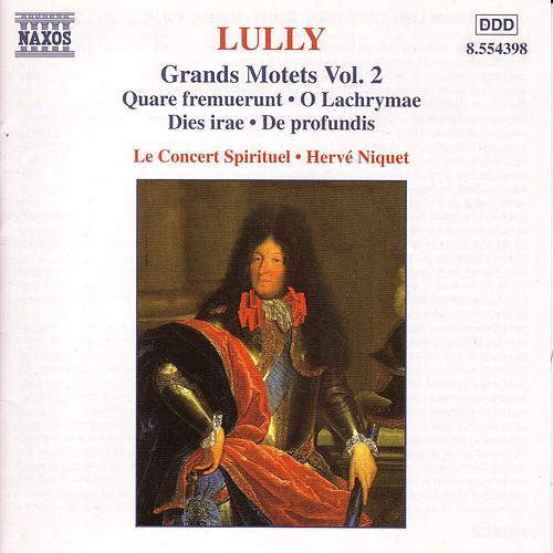 Grands Motets Vol. 2 by Jean-Baptiste Lully