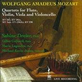 Mozart: Quartets for Flute, Violin and Viola (Live) by Sabine Dreier