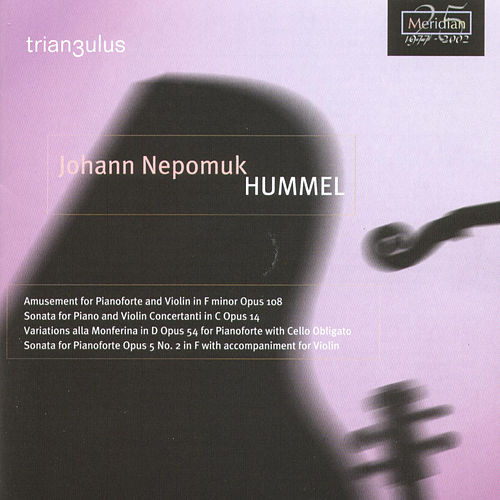 Hummel: Amusement For Pianoforte And Violin In F Minor Opus 108... by Trian3ulus