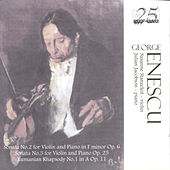George Enescu: Music For Violin And Piano by Susanne Stanzeleit