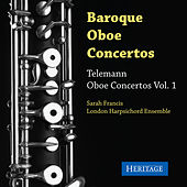 Telemann: Oboe Concertos, Vol. 1 by Sarah Francis