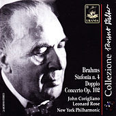 Brahms: Symphony No. 4 & Double Concerto, Op. 102 by Bruno Walter