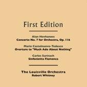 Alan Hovhaness: Concerto No. 7 for Orchestra, Op. 116 - Mario Castelnuovo-Tedesco: Overture to