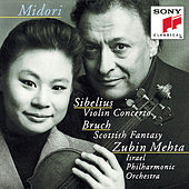 Sibelius: Violin Concerto in D minor, Op. 47; Bruch: Scottish Fantasy, Op. 46 by Israeli Philharmonic Orchestra