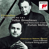 Piano Concertos 2 & 4; Overture on Hebrew Themes by Israeli Philharmonic Orchestra