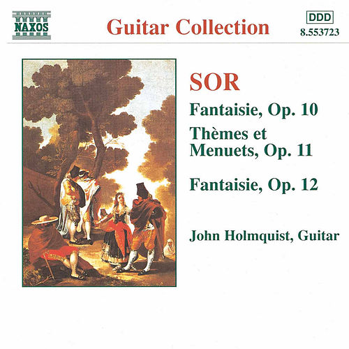 Guitar Music Opp. 10 - 12 by Fernando Sor