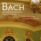 C.P.E. Bach: Recorder Concertos - Chamber Music by Collegium Pro Musica