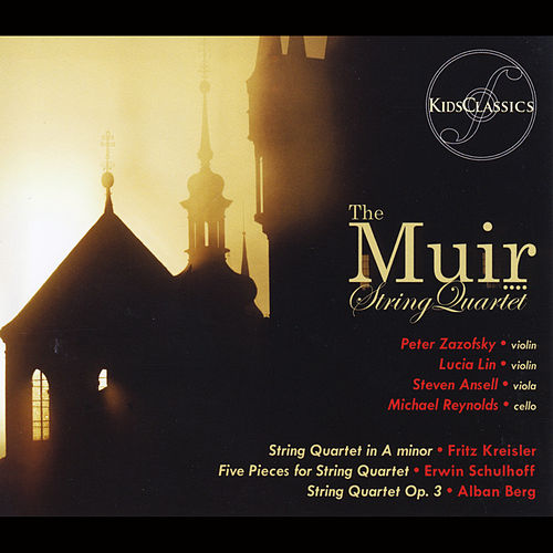 Kreisler Quartet, Schulhoff 5 Pieces and Berg Op. 3 by Muir String Quartet