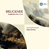 Symphonies Nos. 2 and 4 by Anton Bruckner