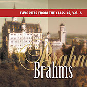 Favorites from the Classics, Vol. 6: Brahms's Greatest Hits by Various Artists