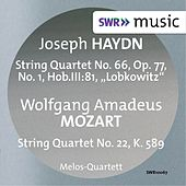 Haydn: String Quartet No. 66 - Mozart: String Quartet No. 22 by Melos Quartet
