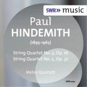 Hindemith: String Quartets Nos. 3 & 5 by Melos Quartet