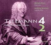 Telemann: Complete Sonatas for Recorder & Basso Continuo by Michala Petri