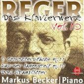 Reger: Das Klavierwerk, Vol. 10 by Markus Becker