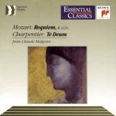 Mozart: Requiem, K. 626;  Charpentier: Te Deum by Jean-Claude Malgoire