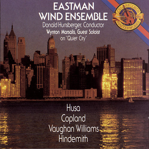 Works by Copland, Vaughan Williams, and Hindemith by Eastman Wind Ensemble