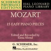 Mozart: 15 Easy Piano Pieces by Hal Leonard Corporation