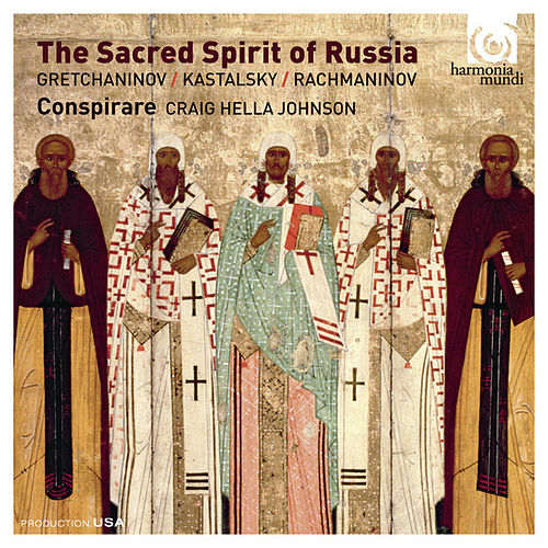 The Sacred Spirit of Russia by Various Artists