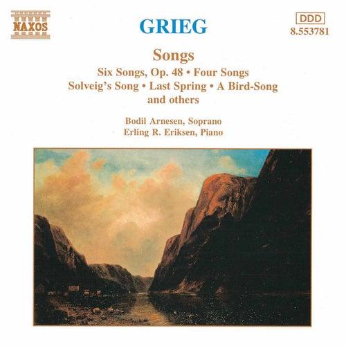 Songs by Edvard Grieg