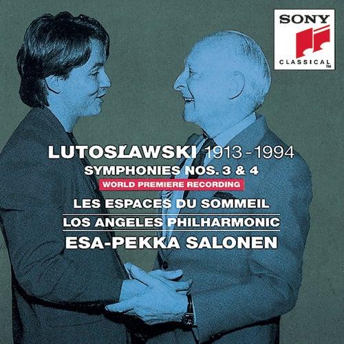 Lutoslawski:  Symphonies Nos. 3 & 4, Les Espaces du sommeil by Various Artists