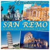 23 Canciones Antiguas. San Remo, Festival de la Canción en Italia by Various Artists