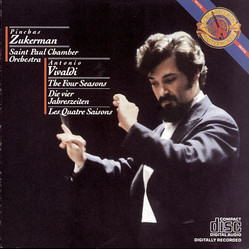 Vivaldi:  The Four Seasons by Pinchas Zukerman; The Saint Paul Chamber Orchestra