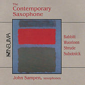 The Contemporary Saxophone by Various Artists