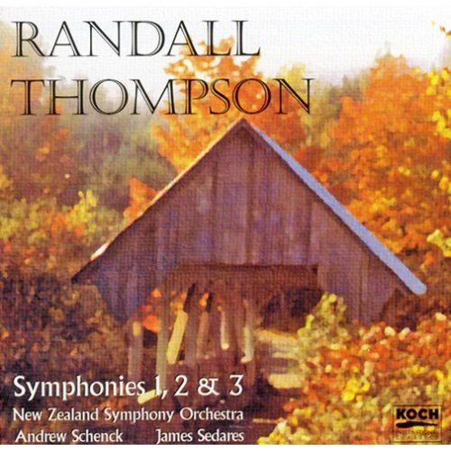 Randall Thompson - Symphonies 1,2 & 3 by New Zealand Symphony