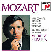 Mozart:  Concertos No. 11, 12 & 14 for Piano and Orchestra by English Chamber Orchestra; Murray Perahia