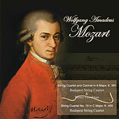 Mozart: String Quartet and Clarinet in A Major, K. 581 - String Quartet No. 19 in C Major, K. 465 by Various Artists