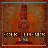 Folk Legends Live by Various Artists