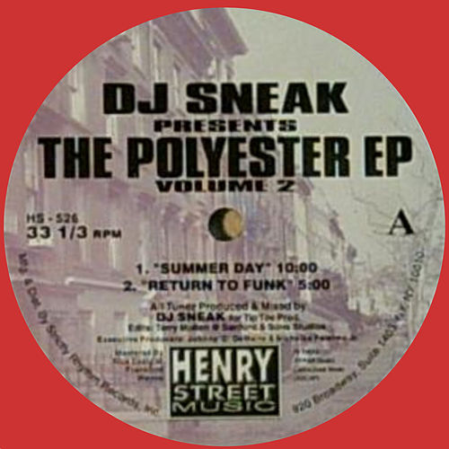 Polyester EP 2 (Reissue) by DJ Sneak
