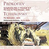 Prokofiev: Symphonies Nos. 1 & 7 etc by Philharmonia Orchestra