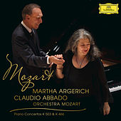 Mozart: Piano Concerto No.25 In C Major K.503;  Piano Concerto No.20 In D Minor K.466 by Martha Argerich