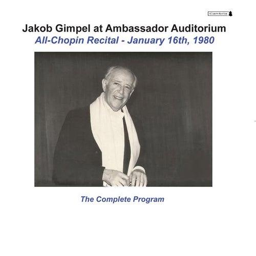 Jakob Gimpel at Ambassador Auditorium (Live) by Jakob Gimpel