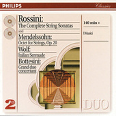 Rossini: String Sonatas/ Wolf: Italian Serenade//Mendelssohn: Octet by Various Artists