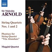 ARNOLD: String Quartets Nos. 1 and 2 / Phantasy for String Quartet